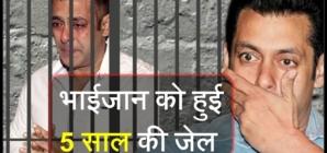 सलमान खान दोषी करार, 5 साल की हुई जेल