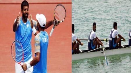 एशियन गेम्स: टेनिस और नौकायन में भारत को 8 साल बाद गोल्ड