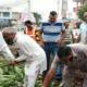 शहर को स्वच्छ बनाने के लिए भाजपा कार्यकर्ताओं और पदाधिकारियों ने चलाया सफाई अभियान